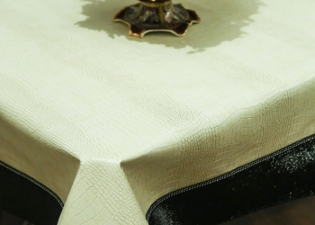 Эксклюзивные скатерти из эко-кожи