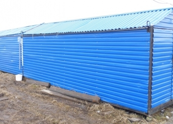 Продам склад для материалов из металлопрофиля на вывоз.