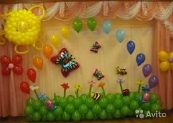 Украшение шарами,воздушные шары,шарики с гелием