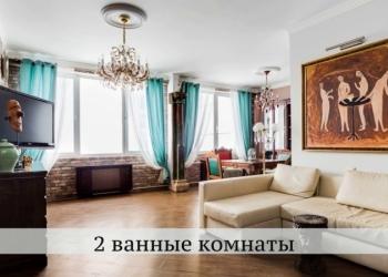 3-к квартира с дизайнерским ремонтом, 120 м2, 23/32 эт. в ЖК Аэробус