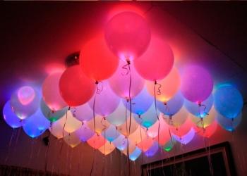 Светящиеся шары. Гелиевые шары. Гелиевые шарики