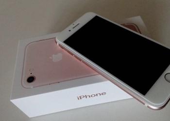 Айфон 7 розовый 128гб