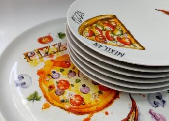 """Набор для пиццы 7-предметов """"Пицца"""""""