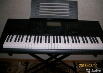 Синтезатор Casio CTK- 6200