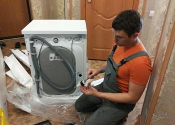 Установка, подключение стиральных машин, душевых кабин в Красноярске