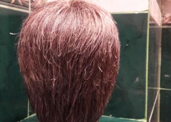 Изготовление мужских париков и накладок из натуральных волос