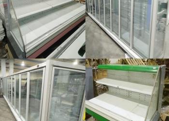 Горки холодильные, витрины, много, недорого, б/у
