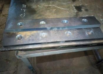 Изготовление крепежа к крановым рельсам