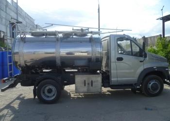 Масловоз, молоковоз, водовоз, жировоз  пищевая цистерна на базе ГАЗ Next