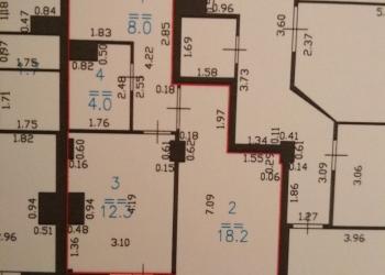 1-к квартира, 43 м2, 5/15 эт.