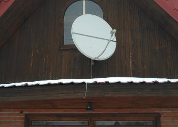Установка спутниковых и эфирных антенн.