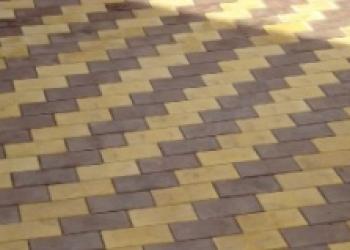 Тротуарная плитка премиум класса, тактильная плитк
