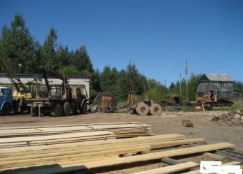 Имущественный комплекс по переработке древесины