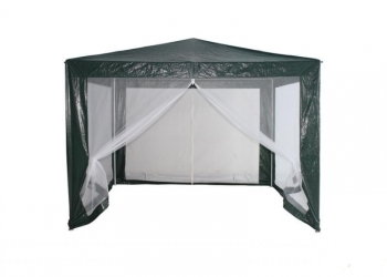 Павильон-тент - шатер с антимоскитной сеткой 3 на 3 метра