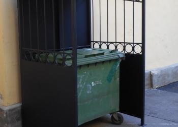 Ограждения для мусорных контейнеров