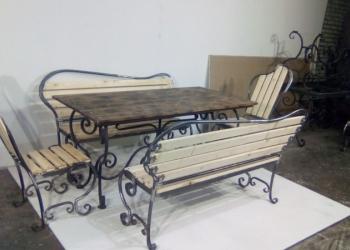 Садовая кованная мебель (комплект)