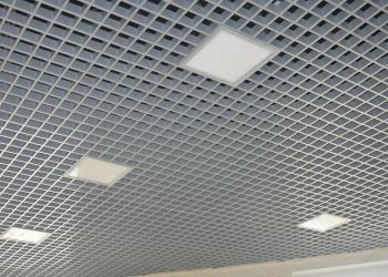 Грильято подвесные растровые потолки