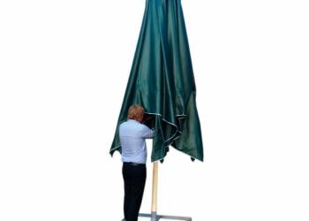 Зонт уличный 4х4м для летнего кафе. От производителя.