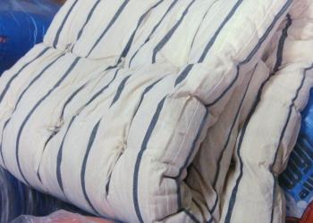 Ватные матрасы от 268 рублей, подушки, одеяла, спецодежда, полотенца недорого