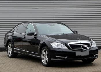 Аренда авто с водителем в Минске. Mercedes W221 S500 Long.