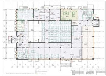 здание свободного назначения 2650 кв.м. с кинотеатром на 300 мест и гараж 6 а/м