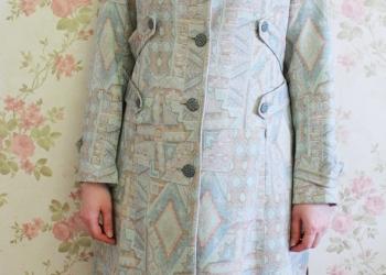 Пальто ( плащ) летнее в пастельных тонах