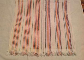 Махровые полотенца б/у
