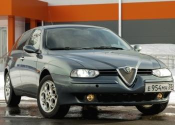 Alfa Romeo 156 SPORTWAGON.