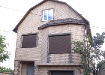 Продам новый дом без внутренней отделки.