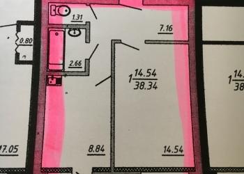 Продам однокомнатную квартиру в центре Белгорода