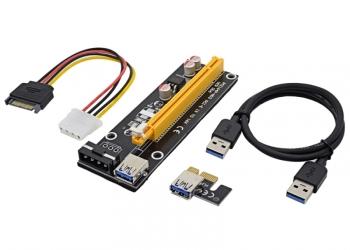 USB райзер PCI-E 60см рейзер riser