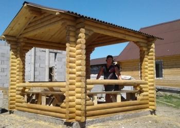 строительство бань, домов, беседок
