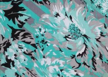 Ткань Штапель набивной  Арт,106