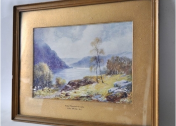 Картина Джон MacWhirter - шотландского художника-пейзажиста