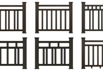 Декоративные ограждения для террас, балконов и беседок