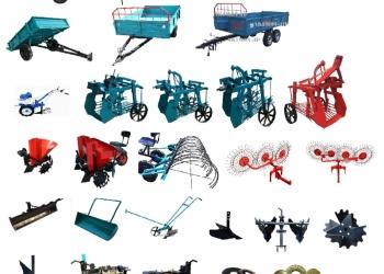 навесное оборудование для мотоблока, мини трактора