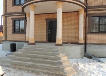 Колонны для домов и коттеджей