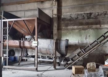 Станок Булава-3 с линией подготовки сырья.
