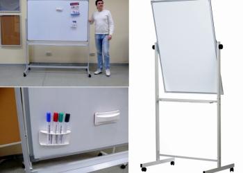 Напольные поворотные магнитно-маркерные доски с доставкой в Калужскую обл.