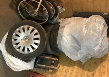 Комплект летней резины на оригинальных volkswagen дисках