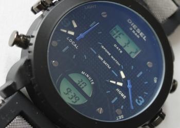 Часы Diesel 3 bar .