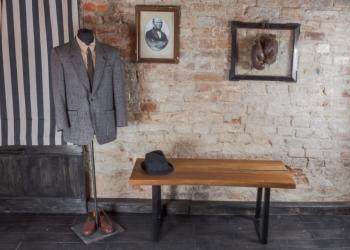 Уникальный журнальный стол из слэба Карагача