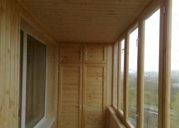 Остекление балконов под ключ
