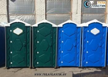 Туалетные кабины новые