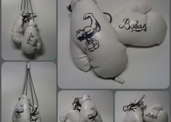 Кулон-подвеска Боксёрские перчатки.