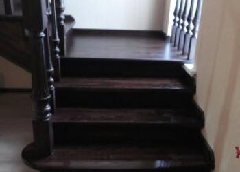 Деревянные лестницы-сосна дуб бук