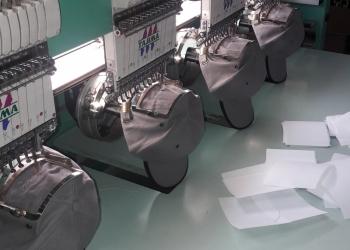 Текстильная фабрика расцвет.