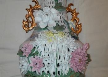 Ваза китайская фарфоровая декоративная
