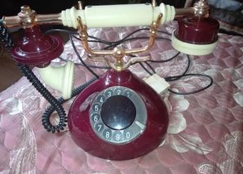 Ретро телефон из СССР