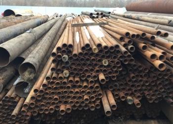 Трубы  63-1420 б/у, длина от 6-12 метров, восстановленная от 9 до 12 м